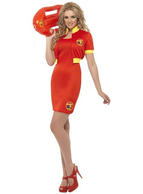 Baywatch Womens Costume