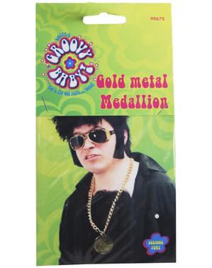 Златен медальон