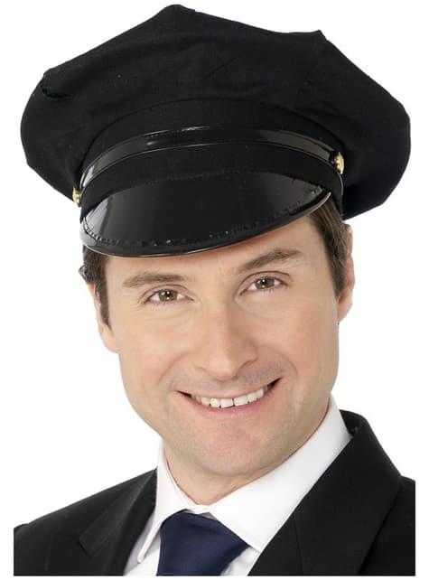 運転手の帽子