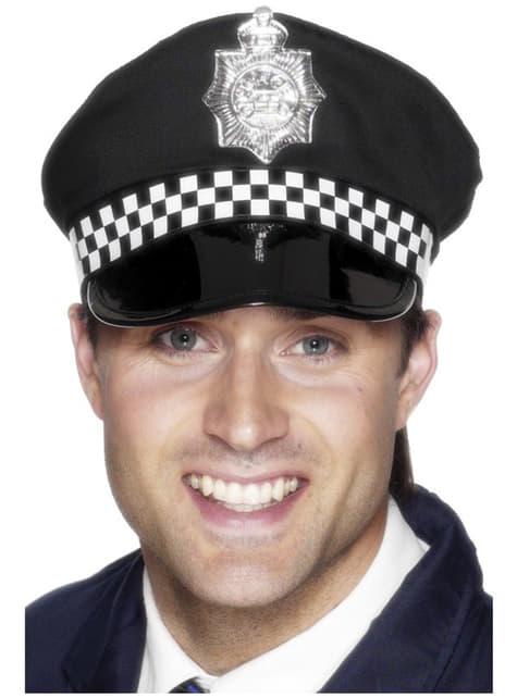 警察の帽子