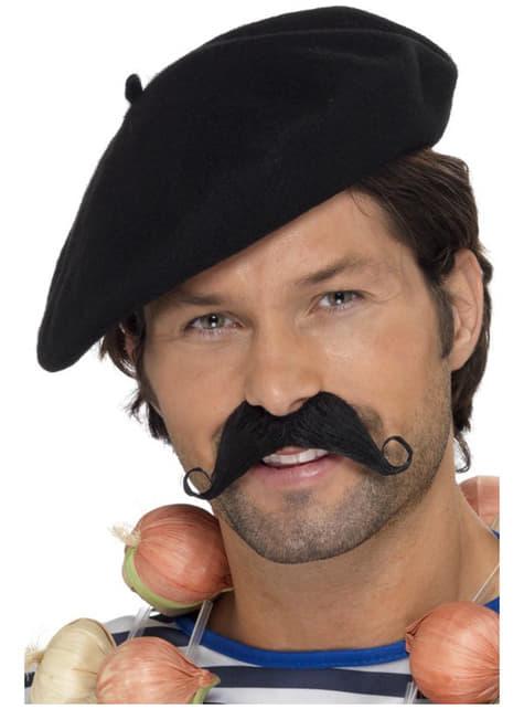 Fransk baret sort