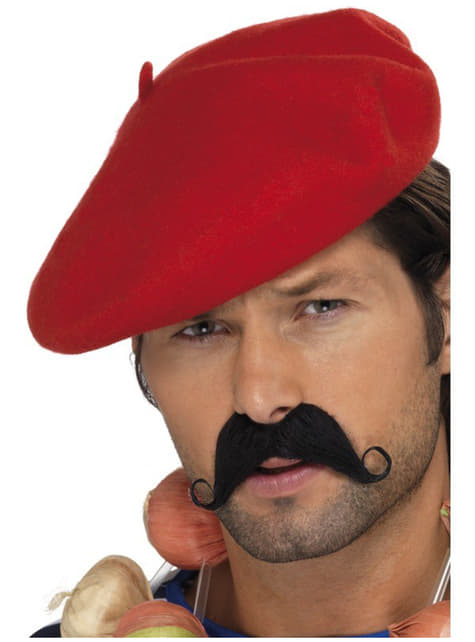 Fransk baret rød