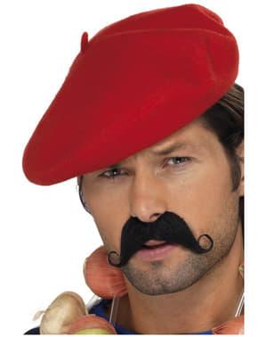 Červená baretka