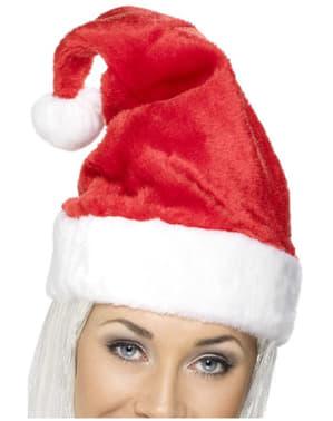 Gorro de Pai Natal deluxe