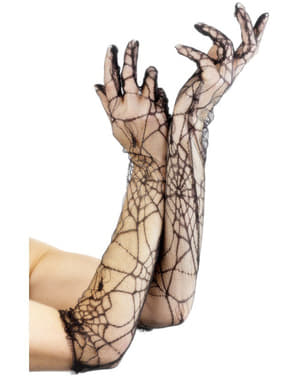Mănuși de dantelă lungi