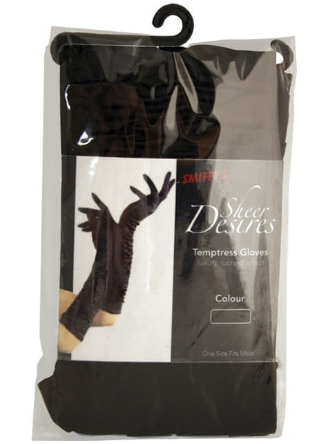Προκλητικά μαύρα γάντια