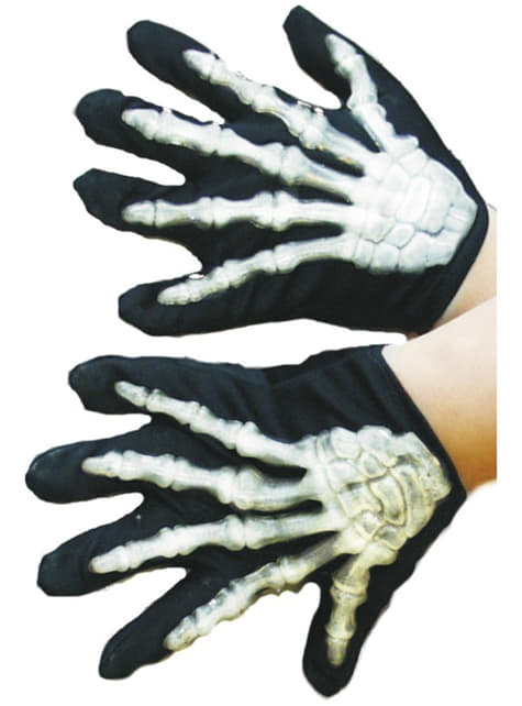 Skeleton Toddler Gloves