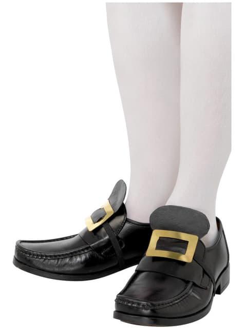 Hebilla metálica de zapato