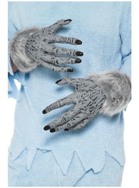 Mains d'homme loup