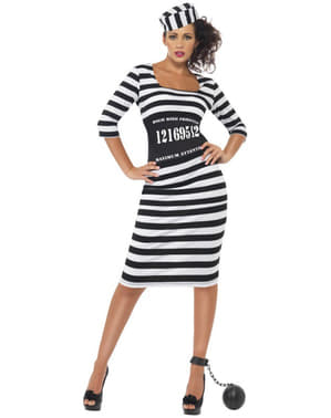 Elegant Prisoner Adult Costume