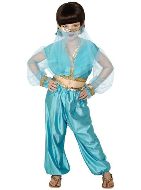 Детски костюм на ориенталска танцьорка