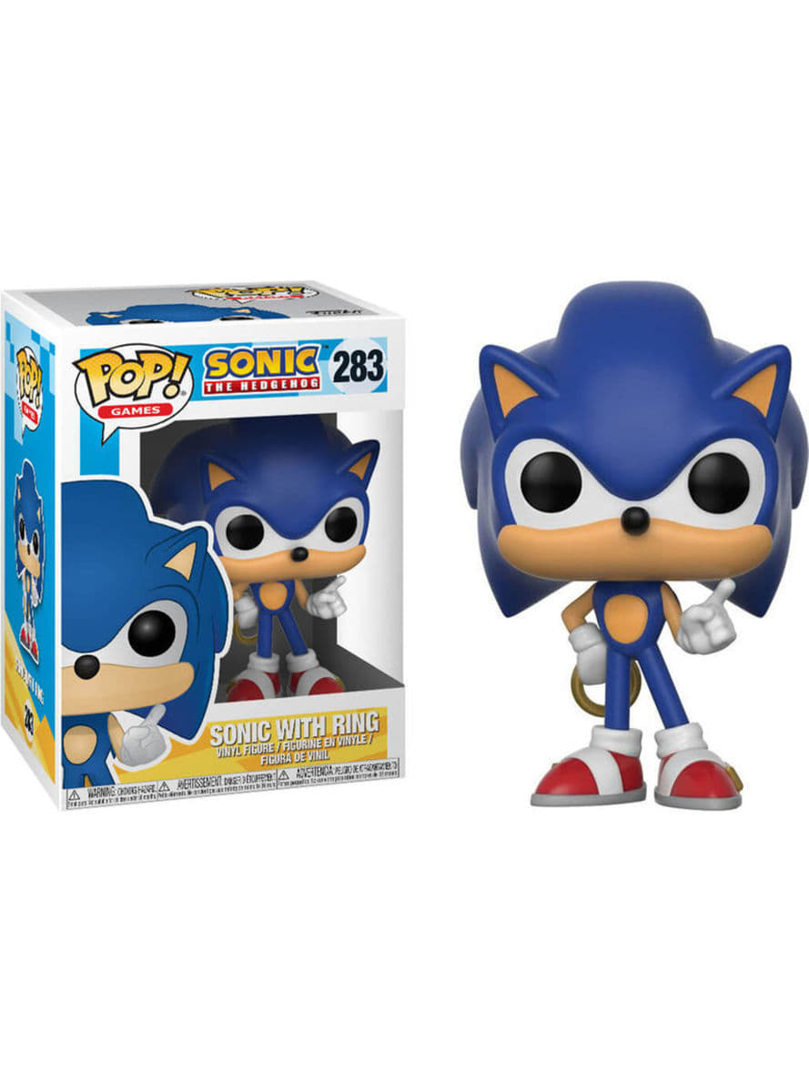 Funko POP! Sonic with Ring - Sonic offizielle für Fans | Funidelia