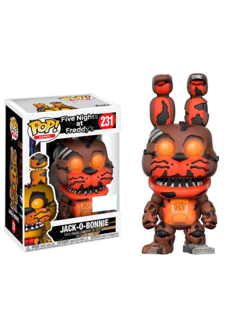 Funko POP! Jack-O-Bonnie GITD - Five Nights at Freddy's