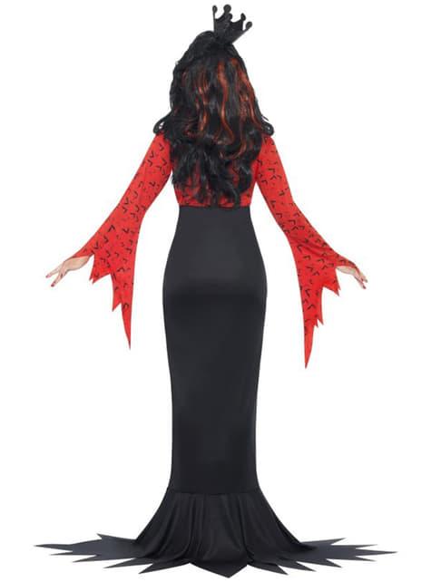 Disfraz de reina demonio - mujer