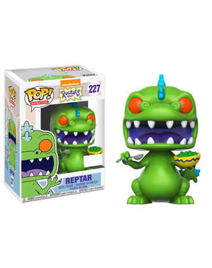 Funko POP! Reptar with Cereal Box - Rugrats