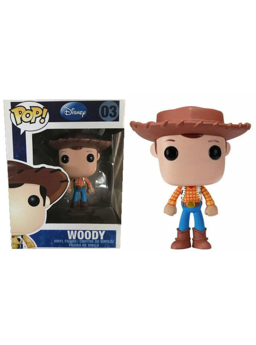 Funko POP! Woody - Toy Story  oficial  para fans  7e6f9b7f46d