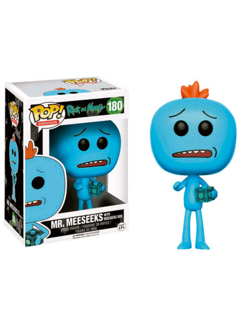 Funko POP! Mr Meeseeks (box) - Rick & Morty