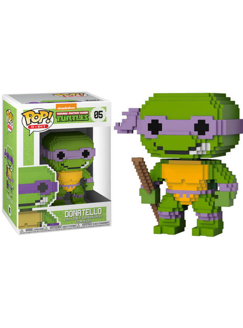 Funko POP! Bit 8 דונטלו - Ninjas Tortugas בלאס