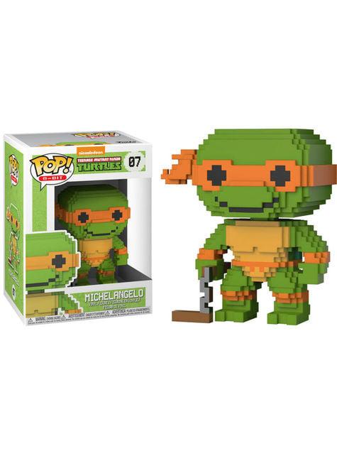 Funko POP! Michelangelo 8 Bit - Las Tortugas Ninjas