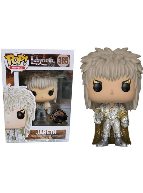 Funko POP! Jareth white outfit - Labyrinth - Exclusive