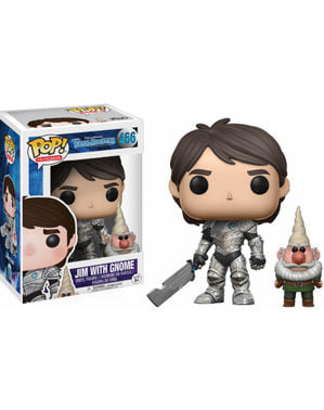 Funko POP! Jim armored with gnome - Trollhunters