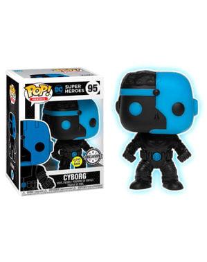 Funko POP! Cyborg Silhouette GITD - DC Comics Justice League