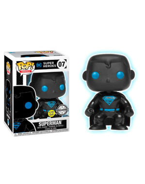 Funko POP! Superman Silhouette GITD - DC Comics Justice League