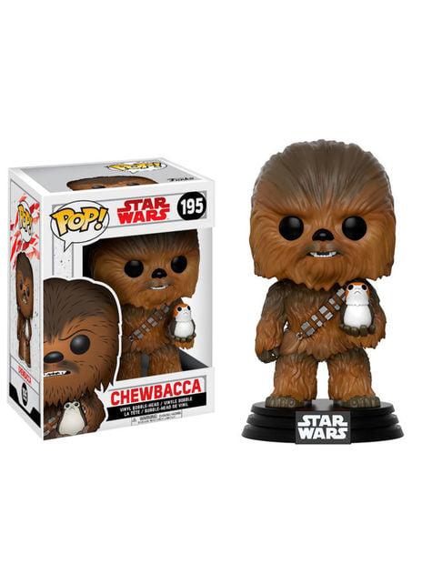 Funko POP! Chewbacca avec Porg - Star Wars Les Derniers Jedi