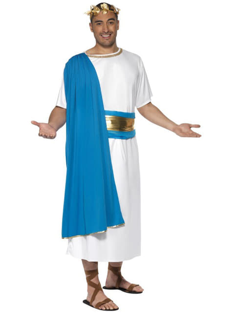 Strój senator ze starożytnego Rzymu deluxe