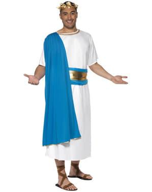 Kostium senator ze starożytnego Rzymu deluxe