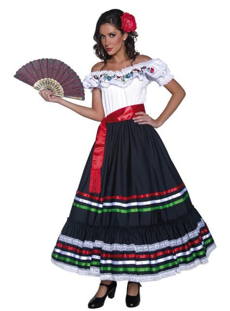 Costum de mexicană pentru femeie