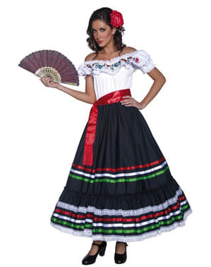 Mexican Señorita Voksenkostyme