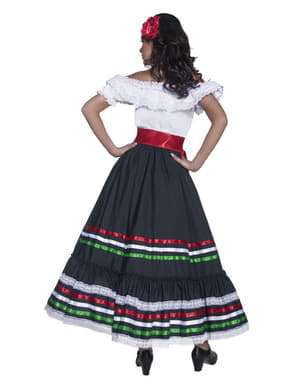 Mexikansk Tjej Maskeraddräkt