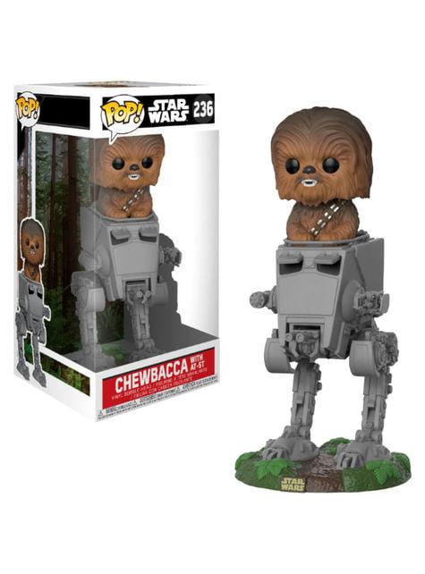 Funko POP! Chewbacca con AT-ST - Star Wars El Retorno del Jedi