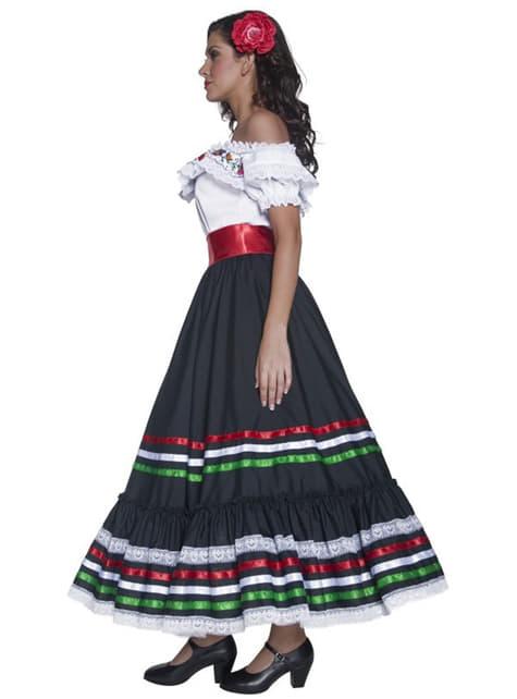 Dámsky mexický kostým