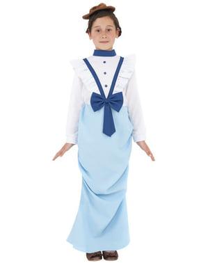 Вікторіанська дівчина дитини костюм