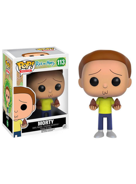 Funko POP! Morty - Rick y Morty