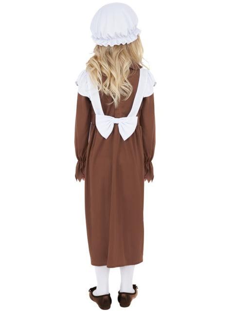 Kostium biedna dziewczynka wiktoriańska