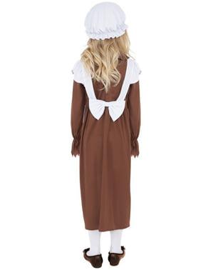 Costum umil Victorian pentru o fete