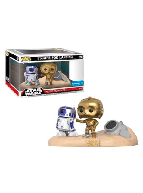 Funko POP! R2-D2 & C-3PO Desert - Star Wars