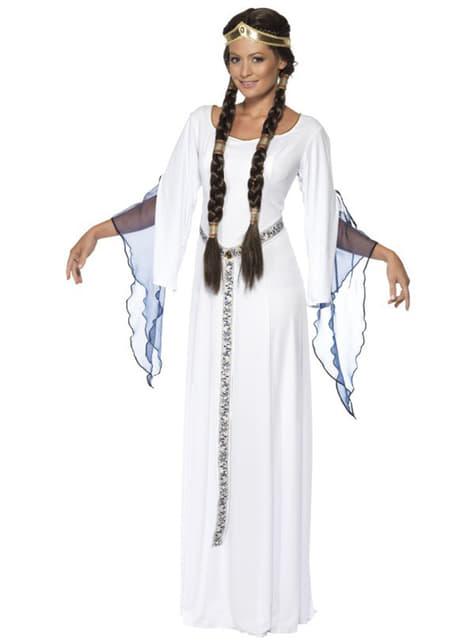 Kostým stredoveká dievčina pre dospelých