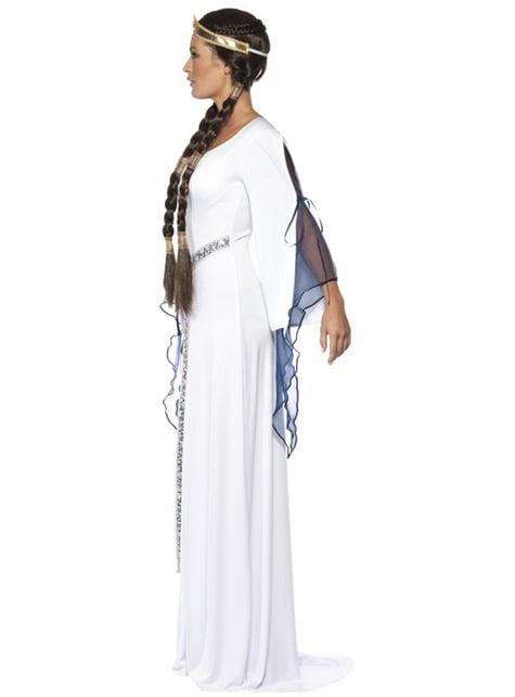 Middeleeuwse jonkvrouw Kostuum