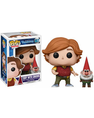 Funko POP! Vinyl Toby with gnome - Trollhunters