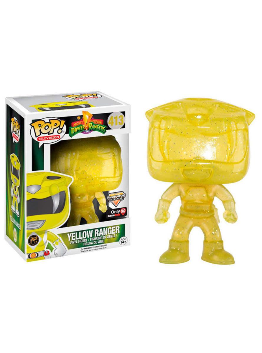 Funko POP! Yellow Ranger Morphing - Power Rangers for true fans ...