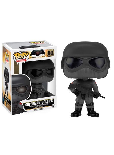 Funko POP! Soldado Superman - Batman vs Superman