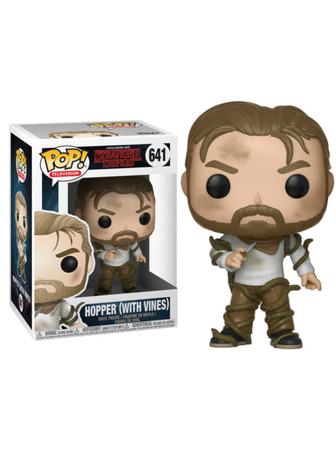 Funko Pop! Hopper entre vides - Strangers Things