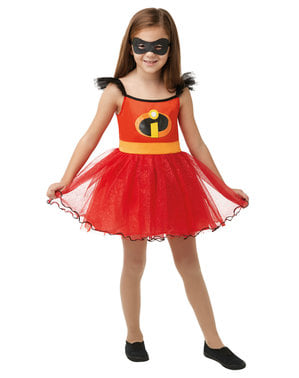 The Incredibles 2 girls costume