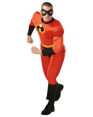 Maskeraddräkt Mr Incredible deluxe vuxen - Superhjältarna 2