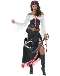 Disfraz de espadachín pirata para mujer ... dfb9e3a262ca