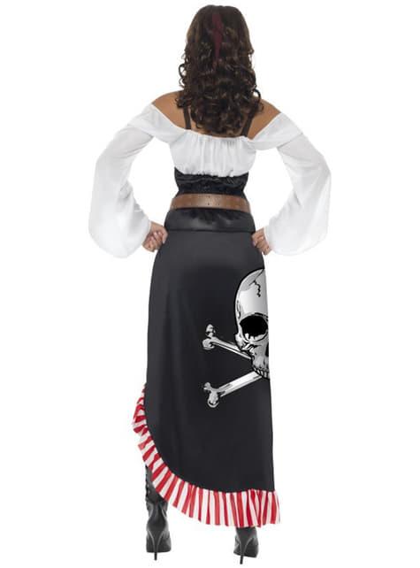 Disfraz de espadachín pirata para mujer - mujer